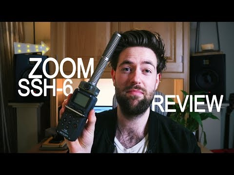 Zoom SSH-6 Stereo Shotgun Microphone Capsule Review